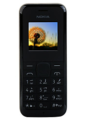 Nokia 105 2G Cell Phone (Single Sim Card 800mAh Battery)