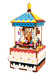 Мультфильм квадрат праздник поставок древесины унисекс