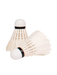 12PCS Leisure Sports Shuttlecocks Durable Stability for Goose Feather