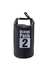 2 L Bolso seco impermeable Bolsa seca Impermeable para Escalada Natación Playa Acampada y Senderismo