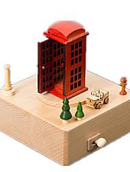 Caixa de música Esfera Modelo e Blocos de Construção Plástico Unisexo
