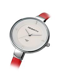 Mulheres Relógio de Moda Chinês Quartzo Lega Banda Preta Vermelho Marrom Cinza