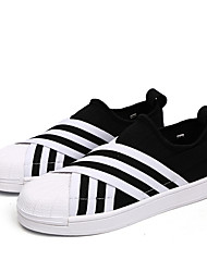 Herren-Sneakers Frühjahr Herbst Komfort PU lässig grau beige schwarz