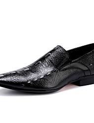 Для мужчин обувь Кожа Весна Лето Осень Зима Баллок обувь Туфли на шнуровке Животные принты Назначение Свадьба Повседневные Для вечеринки