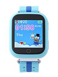 Montres EnfantsEtanche Longue Veille Pédomètres Enregistrement de l'activité Ecran tactile Suivi de distance Clôture électronique Alarme