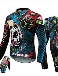 SCOYCO motocross off-road luvas almofadas mtb dh mx corridas Camisa do quadril calças motocicleta definir motocicleta da bicicleta da