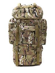 70 L sac à dos Camping & Randonnée Etanche Respirable Multifonctionnel Téléphone/Iphone Nylon