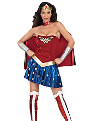 Cosplay Movie Cosplay Fancy Dress Wonder Woman  Princess Diana Super Heroes Festival/Holiday Halloween Dress Halloween Female