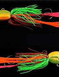 """2 pcs Crayon leurres de pêche Crayons Violet Bleu Vert Bouteille g/Once,120 mm/4-3/4"""" pouce,PlombPêche en mer Bateau de pêche / Pêche à"""