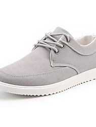 Herren-Sneakers Komfort Leinwand lässig blau grau schwarz