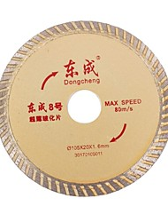 No. 8 East Into Thin Slices Of 105Mm Vitrified Diamond Saw Blade Cutting Ceramics Tiles Marble 60301012/1 Pcs