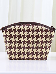 Luggage Organizer / Packing Organizer Cosmetic Bag Portable for Travel StorageBrown