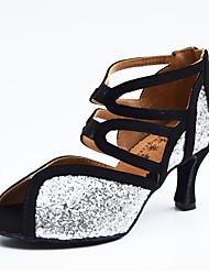 Zapatos de baile-Personalizables-Mujer-LatinoCuero-