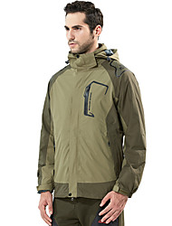 LEIBINDI®Men's Winter Jacket 3-in-1 Jackets Skiing Camping / Hiking Snowsports Snowboarding Waterproof Breathable Thermal / Warm Windproof