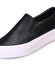 Damen-Loafers & Slip-Ons-Outddor Lässig-Leinwand-Flacher Absatz-Komfort-