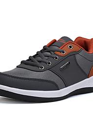 Herren-Sneakers Frühjahr fallen Komfort Tüll lässig dunkelgrau dunkelblau schwarz