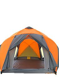> 8 человек Световой тент Двойная Складной тент Однокомнатная Палатка >3000mm СтекловолокноВлагонепроницаемый Водонепроницаемый