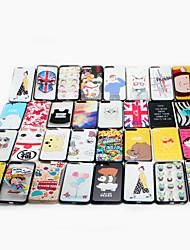 Для случая iphone аргументы за крышки случая iphone 7 яблока задняя сторона обложки мультфильм трудный ПК множественные типы случайная
