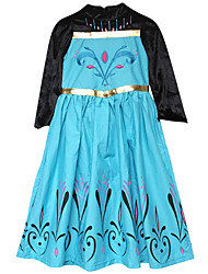Little Girls Queen Party Inspired Coronation Cosplay Dress Up