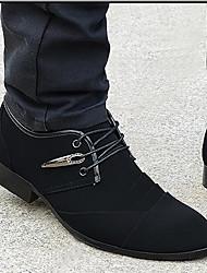 Sandales homme printemps confort tulle casual noir