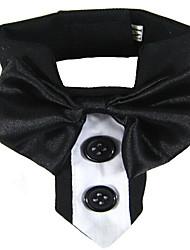 Colliers Ajustable/Réglable Respirable Sécurité Entraînement Course Nœud papillon Tissu Noir