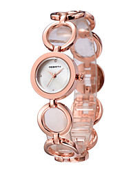 REBIRTH® Women's Fashion Watch Japanese Japanese Quartz / Alloy Band Casual Silver Rose Gold Rose Gold Silver