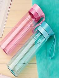 500 мл пластиковый портативный чайник для воды движения бутылку