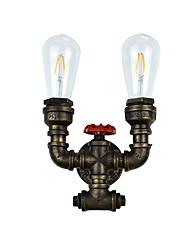 AC 100-240 8 E27 Rustique Traditionnel/Classique Laiton Antique Fonctionnalité for LED Ampoule incluse,Eclairage d'ambianceAppliques