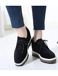 Damen-Sneaker-Lässig-BaumwolleLight Up Schuhe-Schwarz