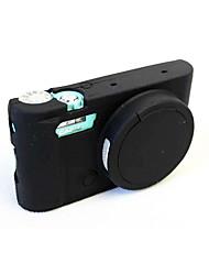 Etuis-Une épaule-Appareil photo numérique-Casio--Noir Bleu