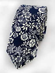 Men's  Fashion Narrow Cotton Tie (6CM)