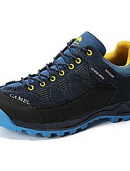 Camel Men's Athletic Outdoor Lace-up Comfort Hiking Shoes ColorNavy Blue/Coffee