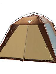 5-8 personnes Tente Unique Tente automatique Une pièce Tente de camping 1500-2000 mm Aluminium Etanche Résistant aux ultraviolets-