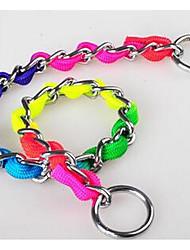Halsbänder Leinen Sicherheit Traning Regenbogen PU Leder Regenbogen