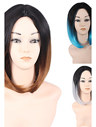 Europe and the United States Sell Bobo Hair High Temperature Wire Short Female Bob Gradient Wig 10inch