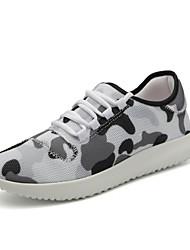 Da uomo-Sneakers-Tempo libero Casual Sportivo-Comoda Suole leggere pattini delle coppie-Piatto-Tulle-