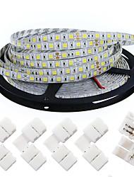 40W W Ohebné LED pásky 4200 lm DC12 5 m 300 lED diody teplá bílá Bílá