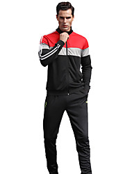 MTIGER SPORTS® Men's Soccer Tracksuit Breathable Comfortable Spring Fall/Autumn Winter Sports Terylene Football/Soccer