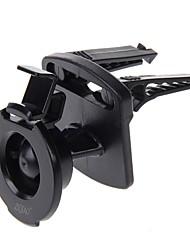 Ziqiao soporte de montaje de ventilación de coche para garmin nuvi 44 52 54 2457 2497 2459 2557 2598 lm / garmin nuvi 55 2457 2497 2458