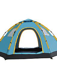 5-8 Personen Zelt Einzeln Automatisches Zelt Einzimmer Camping Zelt 1000-1500 mm Glasfaser OxfordFeuchtigkeitsundurchlässig Wasserdicht