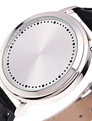 Мужской Спортивные часы Модные часы Уникальный творческий часы электронные часы Китайский Цифровой Светящийся Кожа ГруппаCool