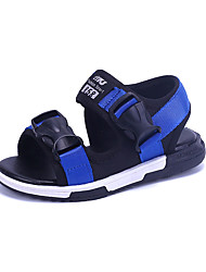 Children Summer Casual Buckle Sandals with Braided Strap Flat Heel Sand beach lightweight Shoes High Quality Slip-on Shoes for /Outdoor/Casual