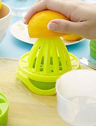 4Pcs/Set  Portable Multi-Function Manual Juicer Tools Lemon Orange Juicer With Double Ice Lattice