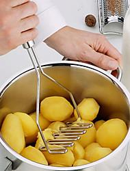 1Pcs  New Stainless Multifunction Potato Ricer Egg Masher Mould Vegetable Fruit Crusher Kitchen Tool
