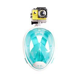 Snorkeling Packages Diving Masks Protective Diving / Snorkeling Neoprene Fibre Glass Green Blue Black Fuchsia