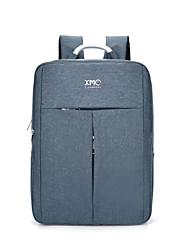 Km2019 Sac à bandoulière portable ultra-léger de 15,6 pouces Sac à bandoulière de style coréen imperméable couleur pure unisexe