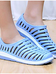 Sandálias masculinas de conforto solas de luz neoprene casual