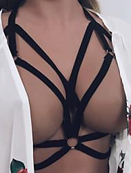 Ultra Sexy Vêtement de nuit Femme,Sexy Couleur Pleine-Mince Spandex Acrylique Aux femmes