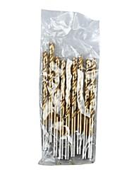 Steel Shield Metric Ti Hss Straight Shank Twist Drill 5.0Mm/1