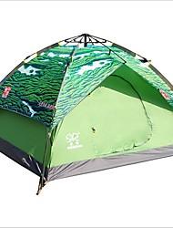 3-4 Pessoas Duplo Um Quarto Barraca de acampamentoCampismo Viajar